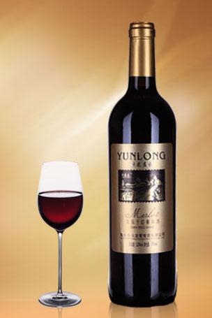 云嘉龙美乐干红葡萄酒