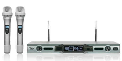 專業固定頻點手持系列麥克風 E-230