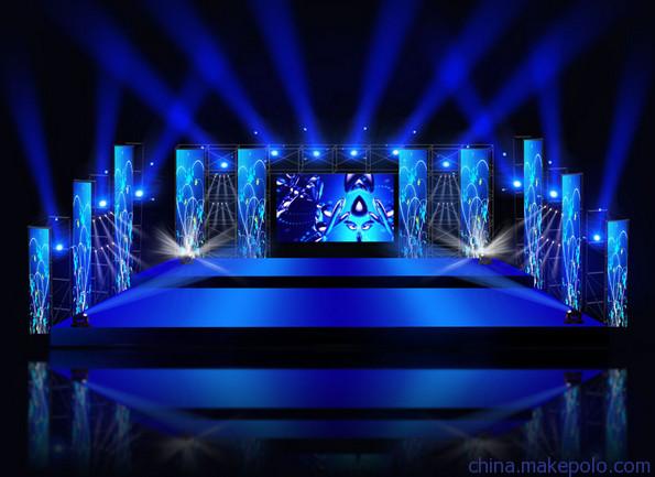 舞臺與燈光之LED顯示屏和舞臺燈光的配合