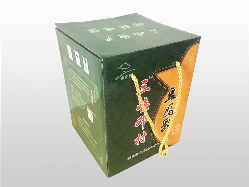 邓村农特产包装盒印刷