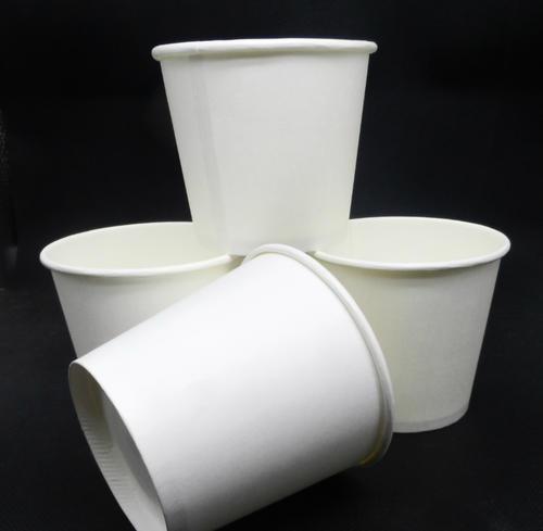 一次性广告纸杯定制试饮品尝饮水白色纸杯定做