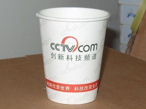厂家定制LOGO纸杯_定做一次性纸杯广告纸杯