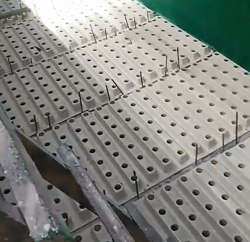 过滤池安装ABS整体浇筑滤板