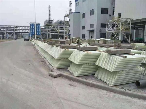 化工厂沉淀池更换80孔径玻璃钢斜管填料