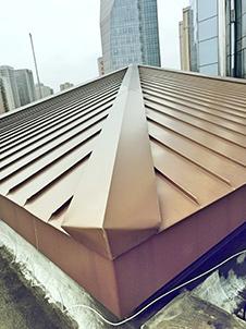 中国人民银行成都分行 铝镁锰金属屋面