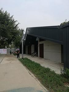 成都龙泉驿马河公园 铝镁锰金属屋面项目