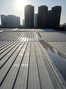 成都七中桂溪校区体育馆铝镁锰金属屋面项目