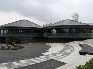 北湖公园1期配套管理服务用房 钛锌板屋面系统