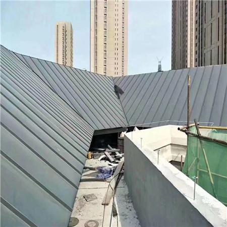 成都铝镁锰外墙板安装