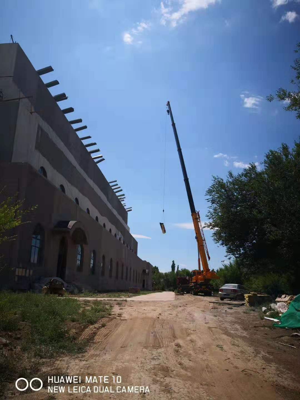 新疆北庭遗址项目-华镁铝锰屋面工程图一