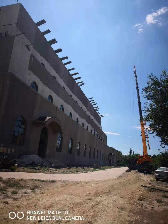 成都华镁铝锰屋面工程-新疆北庭古城项目遗址图二