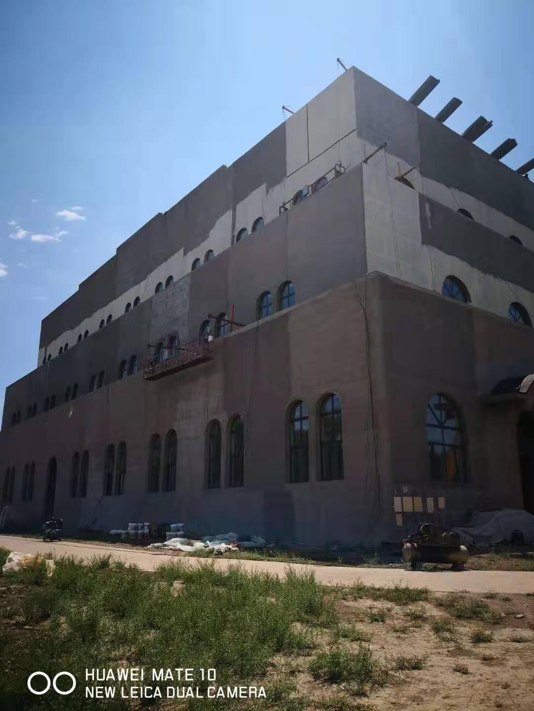 成都华镁铝锰屋面工程-新疆北庭古城项目遗址图三