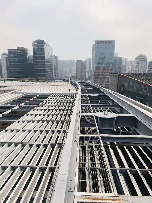 成都高新区管委会金属屋面改造案例