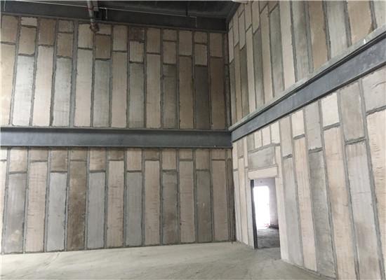 陕西实芯隔墙板整体施工完以后的效果!