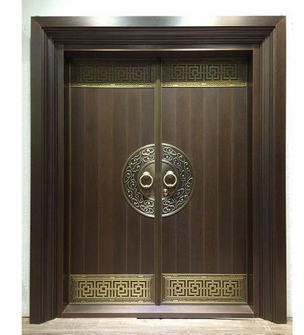 中式别墅门