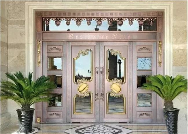 铜门的安装还有这么多讲究!
