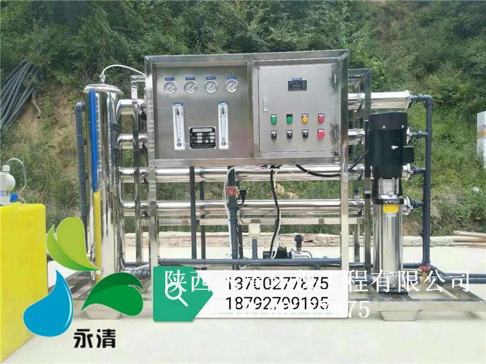 陕西2吨每小时净化水设备