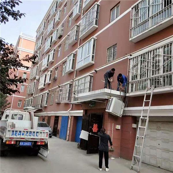 陕西高空清洗安装工程