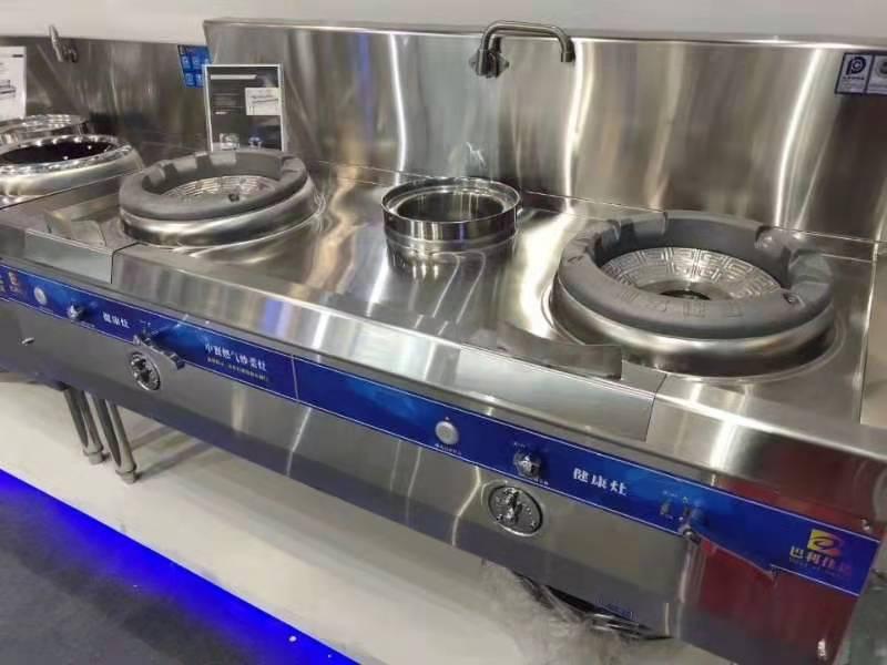 厨房设备中的健康灶展示