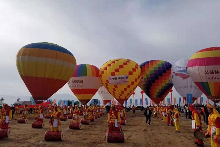 活动道具热气球展示