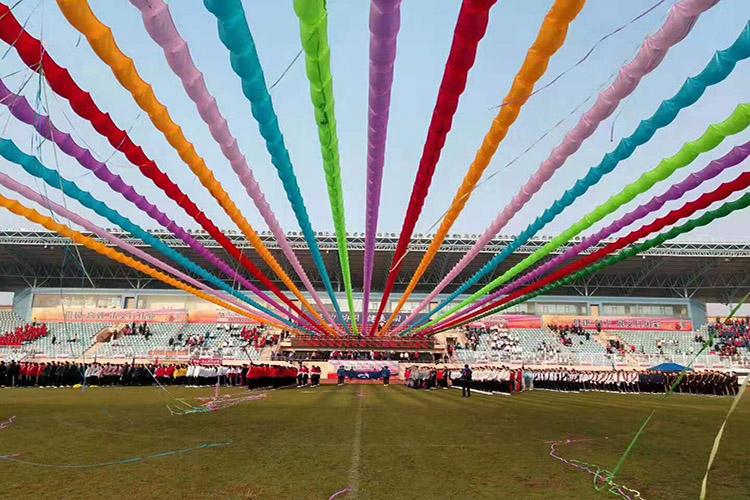 活动策划彩虹条