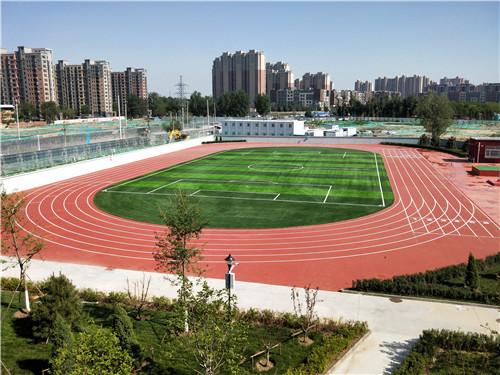 河南全塑型千亿体育与北京通州运河附属小学合作现场