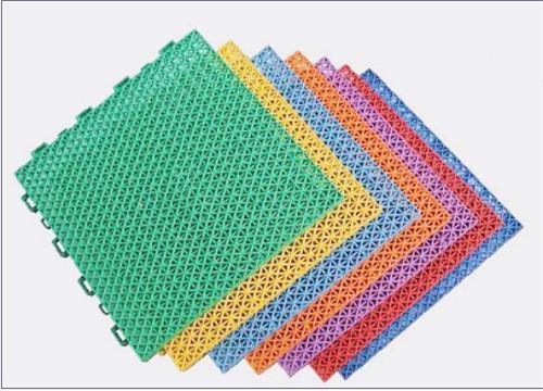 河南运动场拼装塑胶地板