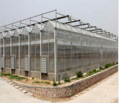 河南玻璃温室PC阳光板温室