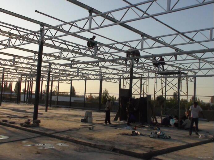 河南温室大棚厂家在百色施工案例