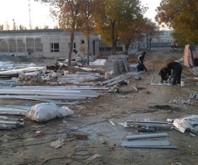 河南智能温室厂家在新疆乌鲁木齐施工