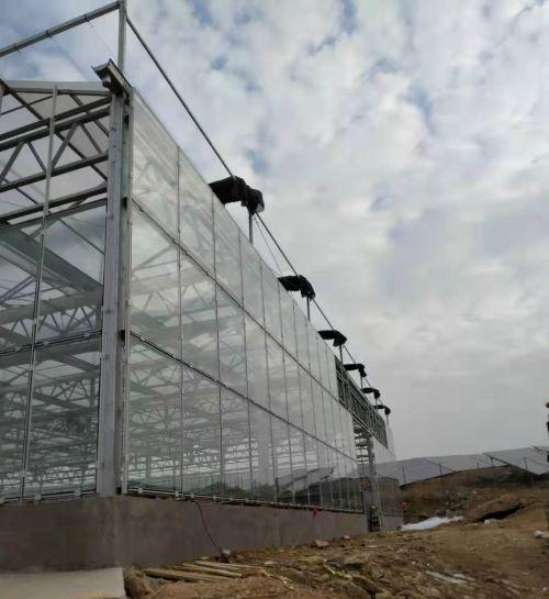 河南玻璃温室厂家工程案例
