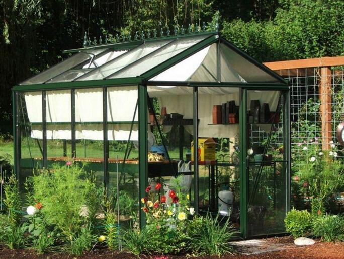 河南玻璃温室庭院温室