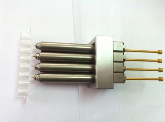 小间距多腔针阀热流道系统