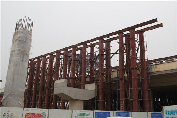 中太建设集团朱宏路-北二环立交工程
