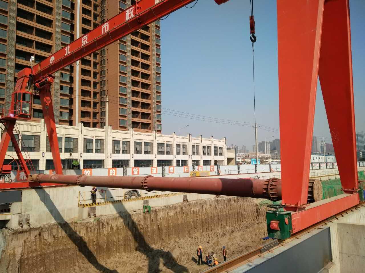 西安地铁六号线TJSG-7标段丈八四路站车站主体