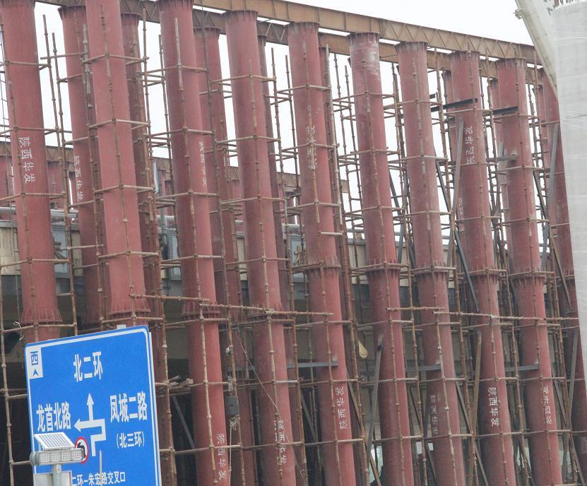 西安钢支撑施工