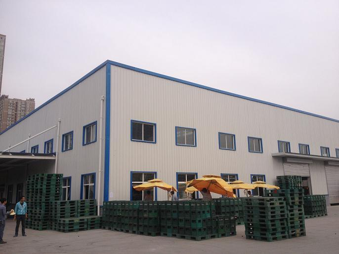 给大家分享西安钢结构厂房建造各环节之间的连接方式分类