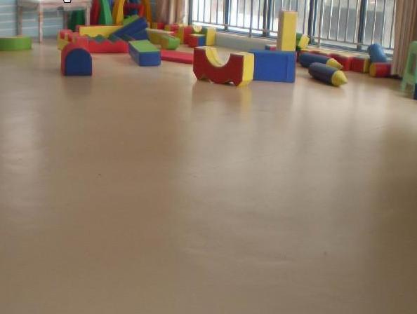 幼儿园PVC塑胶地板帮助儿童快乐成长,真立信塑胶地板厂家邀您了解