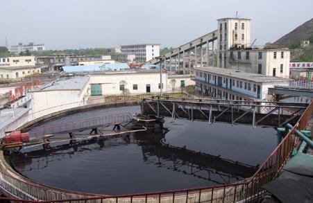 洗煤废水图片