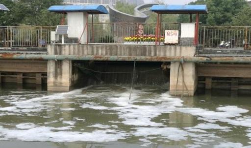 污水进水图片