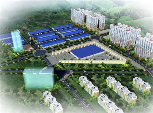 万博体育体育APP省府谷县中森农业科技发展有限公司农产品物流园区
