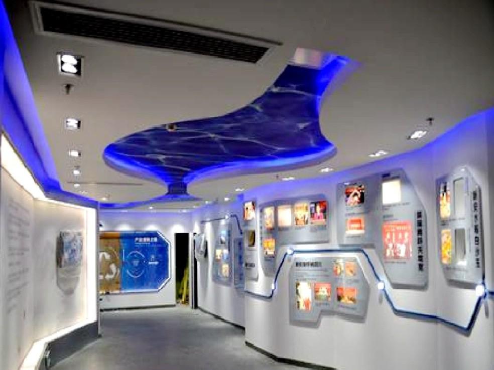 成都展廳設計裝修-展廳