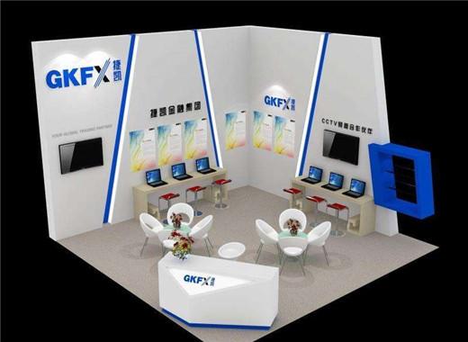 契合的展會設計裝修能夠讓企業在展覽會中一枝獨秀!