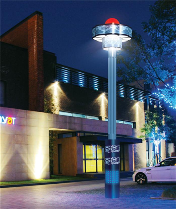 太阳能路灯与市电路灯相比有哪些优势?新疆灯具批发厂家告诉你
