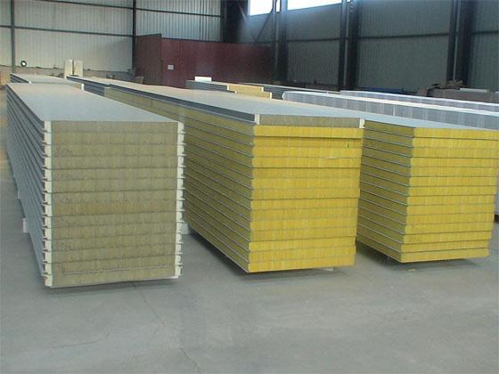 成都岩棉夹芯板工程案例