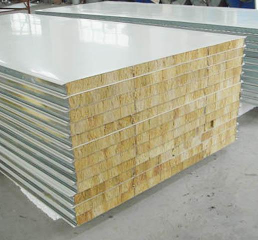 防火岩棉夹芯板规格及性能特点