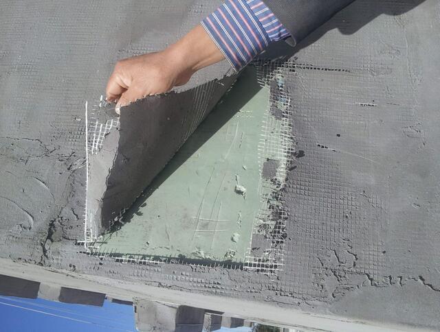 四川抗裂砂浆案例