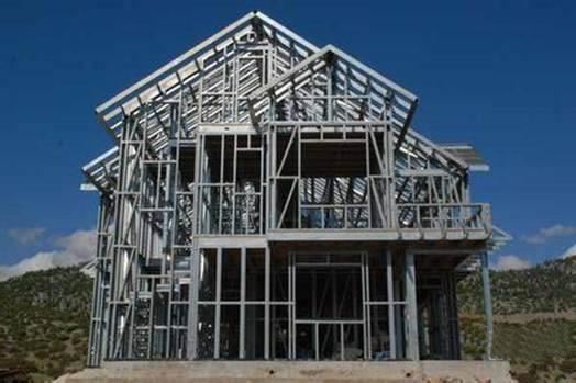 内蒙古轻钢别墅建造