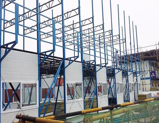 包头彩钢活动房出租出售的房屋制造工艺