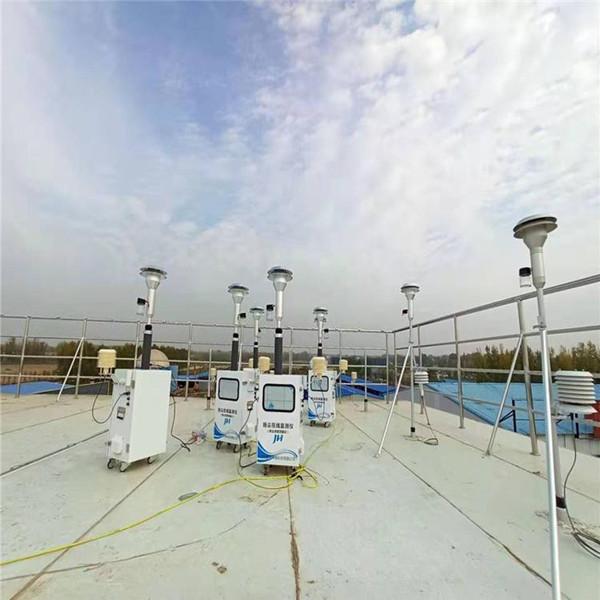 西安工地扬尘在线监测仪投入使用